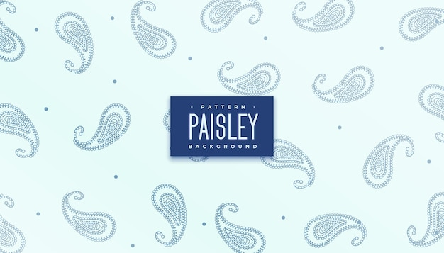Elegancka powtarzająca się faktura wzoru paisley