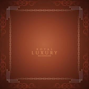 Elegancka, prosta i luksusowa rama