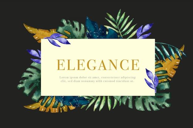 Elegancka tapeta kwiatowa
