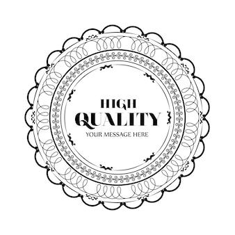 Elegancka, wysokiej jakości konstrukcja ramowa