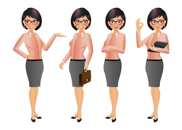 Elegancki bizneswoman