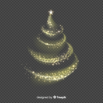 Elegancki choinki tło robić ornamenty