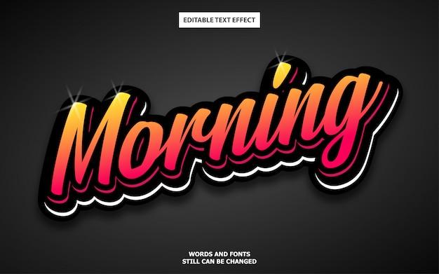 Elegancki edytowalny efekt tekstowy w stylu graffiti