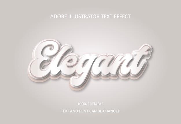 Elegancki efekt tekstowy.