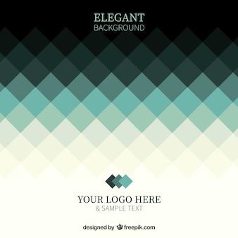 Elegancki geometryczne tle