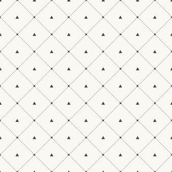 Elegancki i luksusowy geometryczny wzór w kropki. geometryczna prosta ilustracja siatki