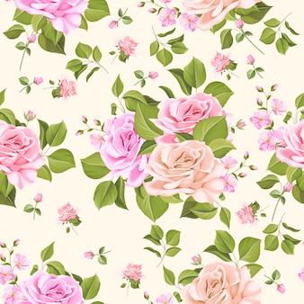 Elegancki kwiatowy wzór