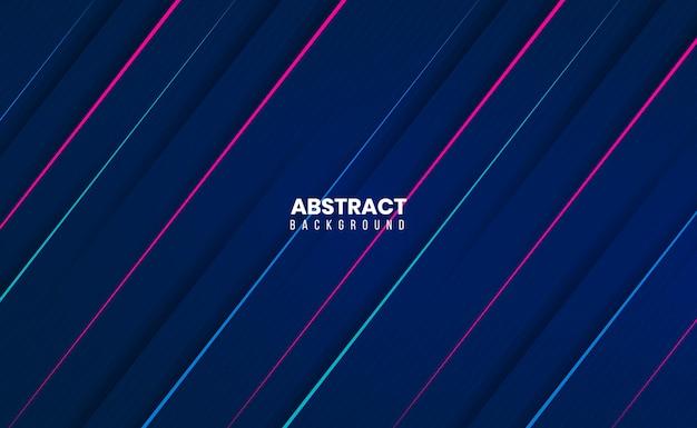 Elegancki, nowoczesny, czysty 3d abstrakcyjne tło