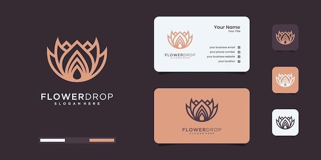 Elegancki olejek różany, kosmetyki, pielęgnacja urody, kwiaty, krople, szablony do projektowania logo pielęgnacji skóry