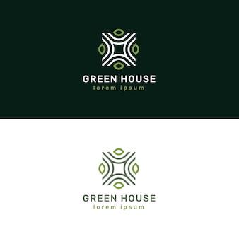 Elegancki projekt logo nieruchomości