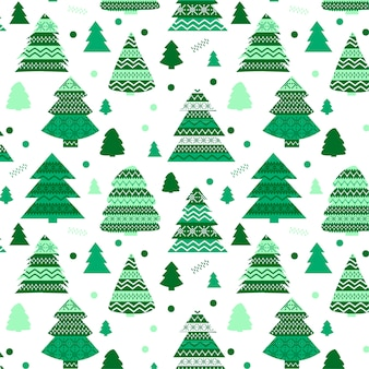 Elegancki świąteczny wzór z motywami świątecznymi