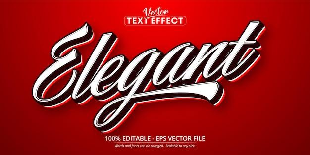 Elegancki tekst, edytowalny efekt tekstowy w minimalistycznym stylu