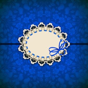 Elegancki wektorowy szablon dla luksusowego zaproszenia, karta