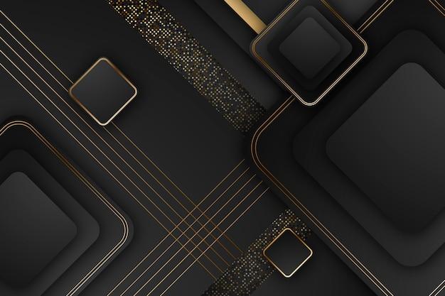 Elegancki wygaszacz ekranu ze złotymi detalami