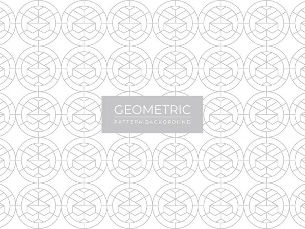 Elegancki wzór geometryczny linie tła