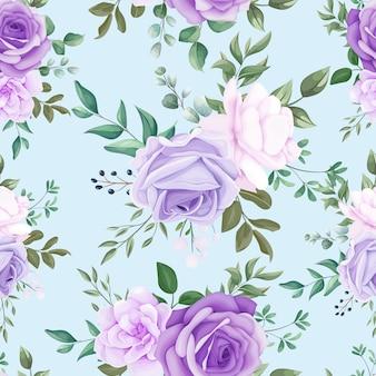 Elegancki wzór kwiatowy