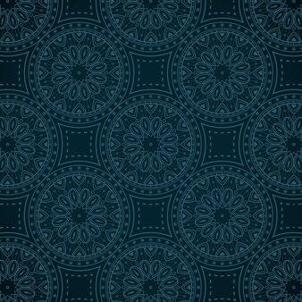 Elegancki wzór mandali