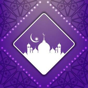 Elegancki wzór tła islamski