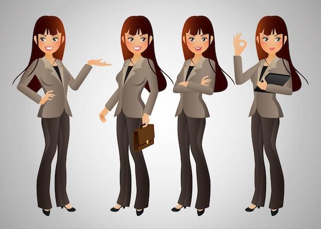 Elegancki zestaw bizneswoman