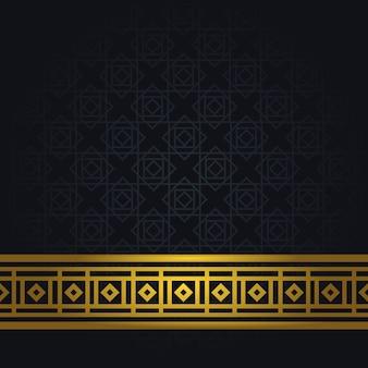 Eleganckie arabskie tło