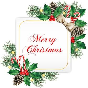 Eleganckie białe kwadratowe kartki świąteczne z życzeniami