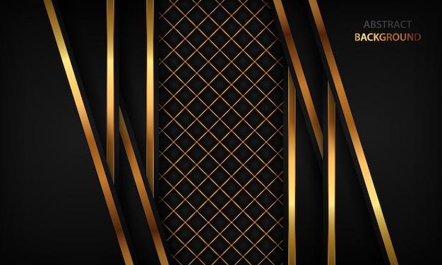 Eleganckie czarne luksusowe tło