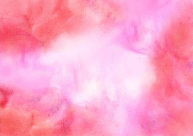Eleganckie czerwone abstrakcyjne tło akwarela