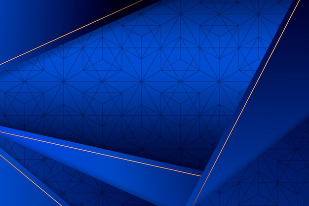 Eleganckie geometryczne kształty tapety
