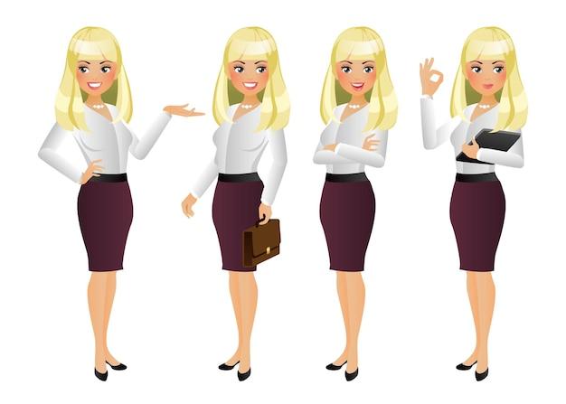 Eleganckie kobiety biznesu