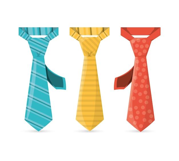 Eleganckie krawaty do zastosowania w specjalnych dniach