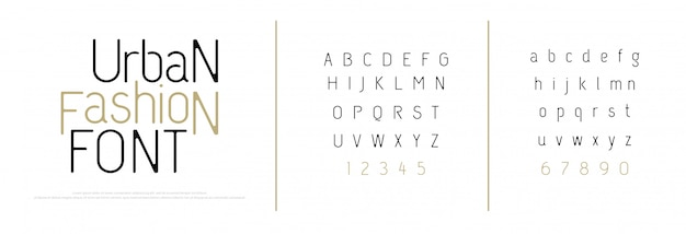 Eleganckie litery alfabetu czcionki. klasyczny napis