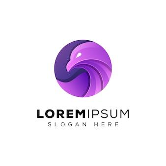 Eleganckie logo orła