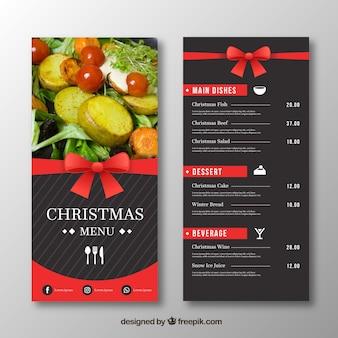 Eleganckie menu świąteczne