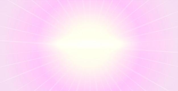 Eleganckie miękkie różowe tło ze świecącym światłem