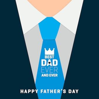 Eleganckie tło dzień ojca