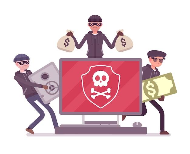 Elektroniczne niebezpieczeństwo kradzieży