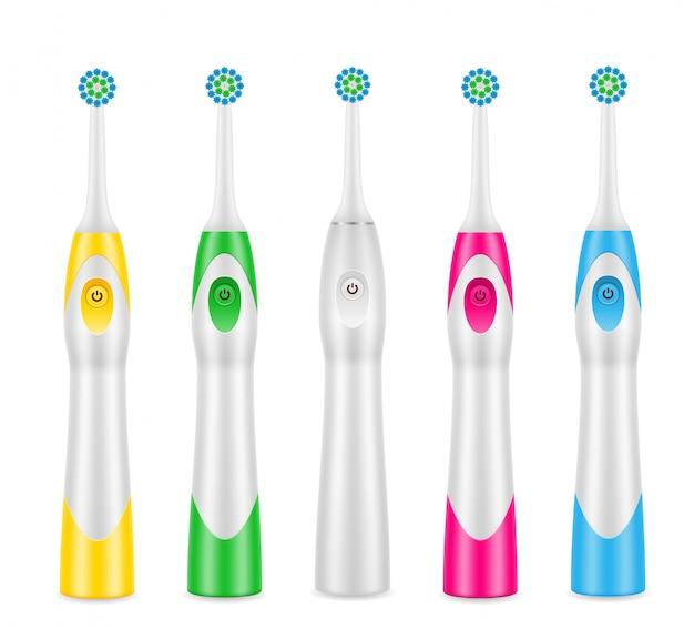 Elektryczna szczoteczka do zębów do czyszczenia zębów i higieny dentystycznej
