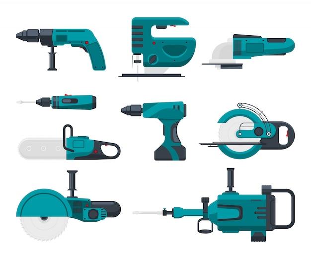 Elektryczne narzędzia budowlane