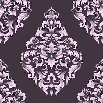 Element adamaszku wzór