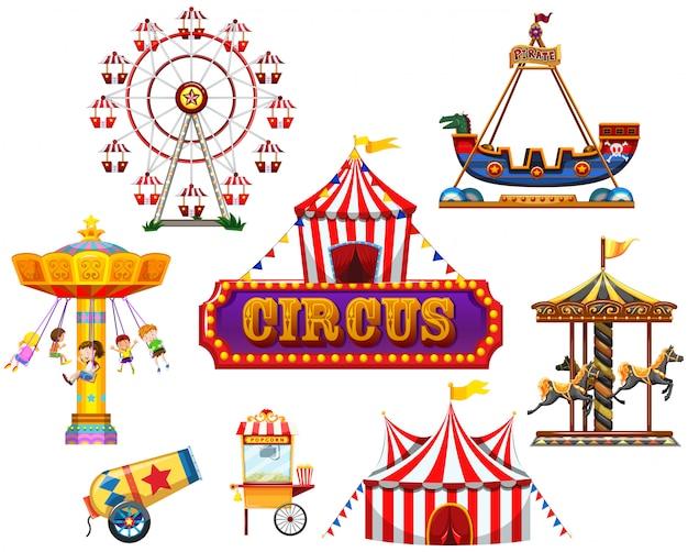 Element cyrkowy i festiwalowy