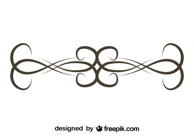 Element graficzny retro prosta konstrukcja