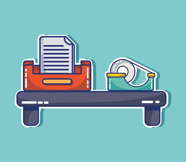 Element ikony office do raportu informacyjnego