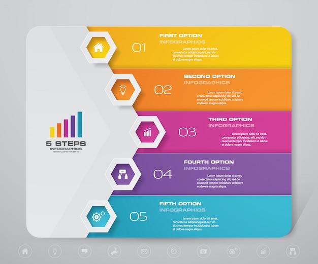 Element nowoczesny plansza wykresu