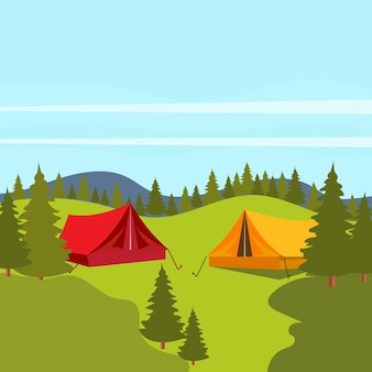 Element obozu ilustracja wektorowa ikona projektu szablon