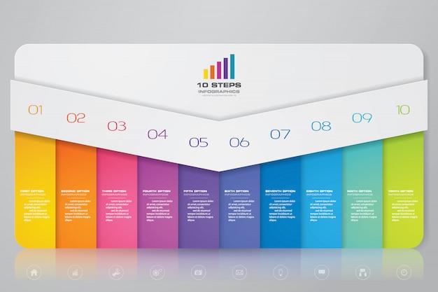 Element plansza wykres prezentacji