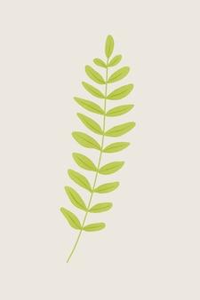 Element projektu gałęzi paproci