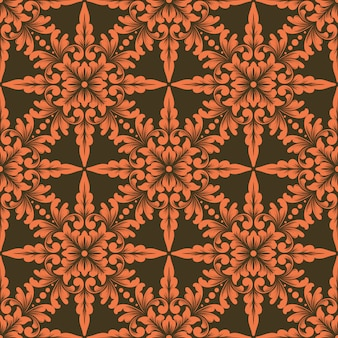 Element wzoru ornamentu geometrycznego w stylu zentangle.