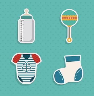 Elementy baby shower