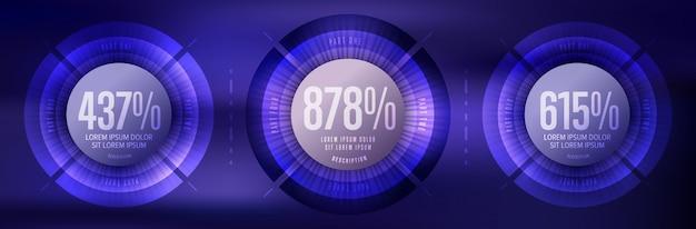 Elementy biznesu infografiki