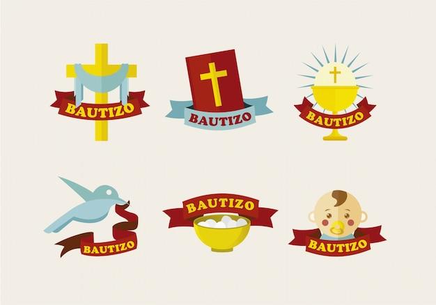 Elementy chrztu gromadzą się